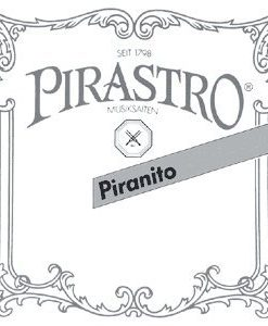 Pirastro Piranito 4/4 Violin String Set - Chromesteel/Steel - Medium Gauge - Ball End E